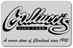 Gallucci's Gift Cards